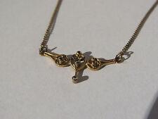Feine Halskette - Goldkette - Collie - Jugendstil - 333 er Gold
