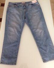 Uniqlo Women's Slim Boyfriend Fit Ankle Length Jeans, 32 Inch Waist