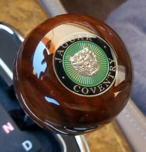 Jaguar Walnut Wood Gear Shift Knob XJ40,XJ6,XJ8,XK8,Sovereign,X300,X308,X350 V8