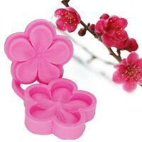 Chocolate Mold Plum Blossom Sugarcraft Flower Fondant Mould Silicone Mold Cake