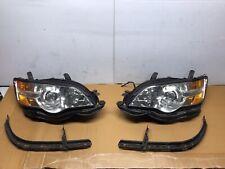 2006 2007 Subaru Legacy Headlight & Bracket Driver And Passenger 06 07
