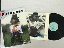 "PRINCESS SAY I'M YOUR No.1 + LIMITED EDITION POSTER 1985 UK RELEASE 12"" 45"