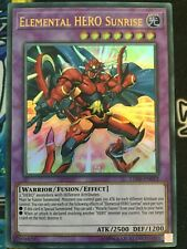 Yugioh - Elemental HERO Sunrise LED6 EN012 - Ultra Rare - UNL ED