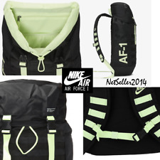 "BIG 30L UNISEX🔥 Nike Sportswear AF1 Backpack 15"" Laptop Black/Yellow BA5731-013"