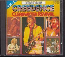 CREEDENCE CLEARWATER REVIVAL Het Complete Hit Album VOL 2 CD ARCADE
