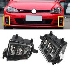 Fit For VW GTI (Golf ) GTD MK VII 14-16 5G LED Lamp Front Bumper Fog Light - L+R