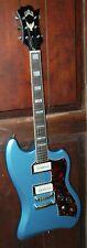 Guild T-Bird St P90 Pelham Blue Solid Body Electric Thunderbird Guitar with Bag