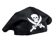 Black Skull & Crossbones Pirate Bandana Pirates Of the Carribean Fancy Dress