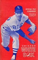 1965 (June 15) Baseball program Minnesota Twins @ Chicago White Sox, unscored~VG