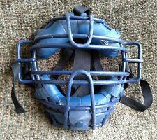 Wilson A3011 ET blue catchers/umpire mask with diamond straps