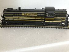 Bachmann 64202 HO ALCO RS 3 Diesel loco D&RGW #5200-Early; DCC fitted; yell & bl