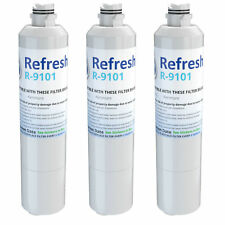 Refresh Water Filter - Fits Samsung Water Sentinel WSS-2 Refrigerators (3 Pack)