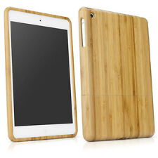 Natural Bamboo Wood Case Cover Skin for iPad mini 1 2 3 Retina S9DS