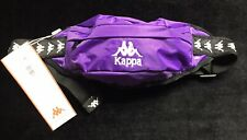 Kappa Purple Travel / Sports Crossbody Sling Waistpack Bag / Hip Fanny Pack