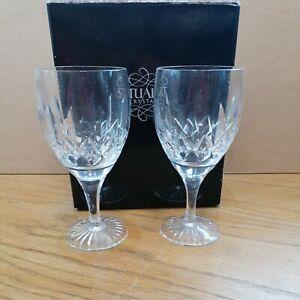 Stuart Crystal Set of 2 Wine Glasses Boxed