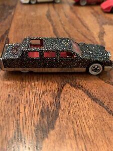 Vintage 1990 Hot Wheels Glitter Limousine