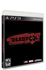 Deadpool Ps3 Game PlayStation 3 VGC Complete