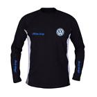 VOLKSWAGEN T-Shirt t shirt Langarm Sport Trainings Hergestellt in EU ALLE Größen