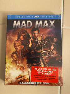 Mad Max (Blu-Ray) Collector's Edition BRAND NEW FACTORY SEALED