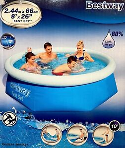 Bestway Swimming POOL 244 x 66 cm Family Kinderpool PLANSCHBECKEN Badespaß