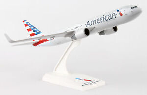 SkyMarks 786 American Airlines Boeing 767-300ER New Livery 1/200 Scale Model