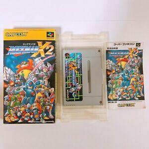 Rockman Megaman X2 Nintendo Super Famicom SFC SNES Japan game