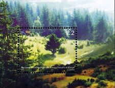 Kosovo Stamps 2011. EUROPA CEPT. Forests. Block MNH