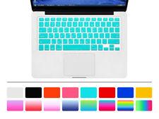 Korean Silicone US Keyboard Cover Skin Film For Macbook Pro Air Retina 13 15 17