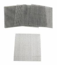 New listing 15pcs 8 x 8cm Decorative Stainless Steel Wire Fish Tank Mesh Pad