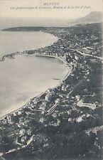 Carte postale-Mentone/Vue panoramique de Garavan