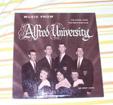 Music from Alfred University LP Album Early 60s? New York Choirs Red Vinyl VTG
