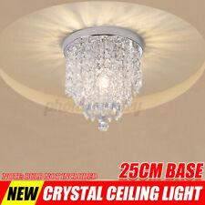 Kristall Hängelampe Deckenleuchte Pendelleuchte Kronleuchter Deckenlampe Ø25cm