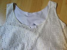 TSHIRT TBE 13 14 ANS ZARA Tee Shirt Vintage DENTELLE DEBARDEUR TUNIQUE