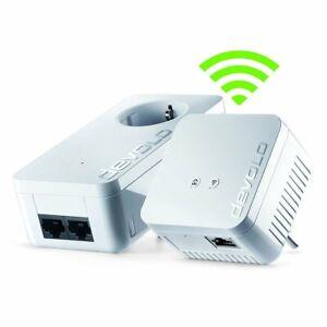 Devolo Dlan 550+ Wifi Kit, Set aus 2 Adaptern, Internet über Stromleitung