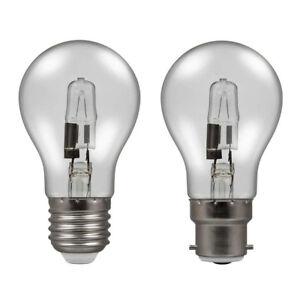 x10 Eveready ECO Halogen Dimmable GLS Bulbs 33w = 40w / 48w = 60w / 80w = 100w
