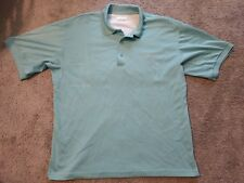 Columbia PFG Vented Polo Fishing Shirt Light Blue Medium