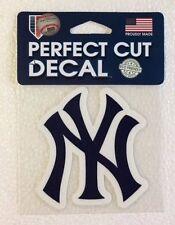 "New York Yankees NYY 4"" x 4"" Logo Truck Car Auto Window Die Cut Decal Team Color"