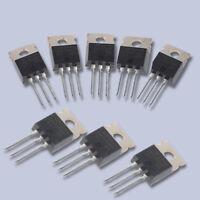 10pcs IRFZ44N IRFZ44 Power Transistor MOSFET N-Channel 49A amp 55V H5U7