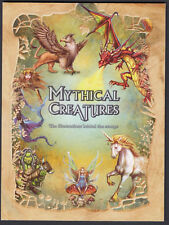 2011 Australia Prestige Booklet MYTHICAL CREATURES Illustrations Behind Stamps