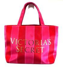 Victoria's Secret Satchel Bag Purse handbag Pink Red Fabric Shell SMALL