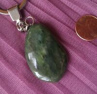 Jade polished stone from Russia, natural Rock 40 mm