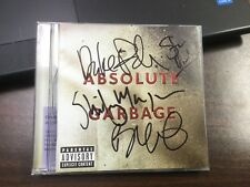 AUTOGRAPHED - ABSOLUTE GARBAGE- Garbage [CD] Signed Shirley Manson Butch Vig + 2
