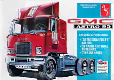GMC Astro 95 Semi Tractor Truck LKW 1:25 AMT Model Kit Bausatz AMT1140