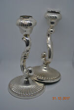 sterling silver 925 candlesticks two