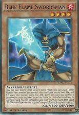 YU-GI-OH CARD: BLUE FLAME SWORDSMAN - LDK2-ENJ14 1ST EDITION