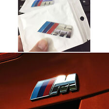For BMW ///M Power badge emblem sticker car rear trunk metal decal M3 M4 M5 M6