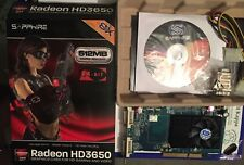 Scheda video agp ATI RADEON SAPPHIRE HD3650 512MB ddr2 64bit Dual DVI-I bundle