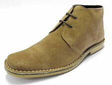 Roamers Suede Lace-up Casual Shoes for Men