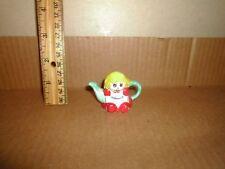 Miniature Figure Red Rose Teapot Doll Lot#28