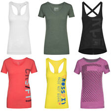 Reebok CrossFit Damen Shirt Training Fitness Sport T-Shirt Yoga Oberteil Running